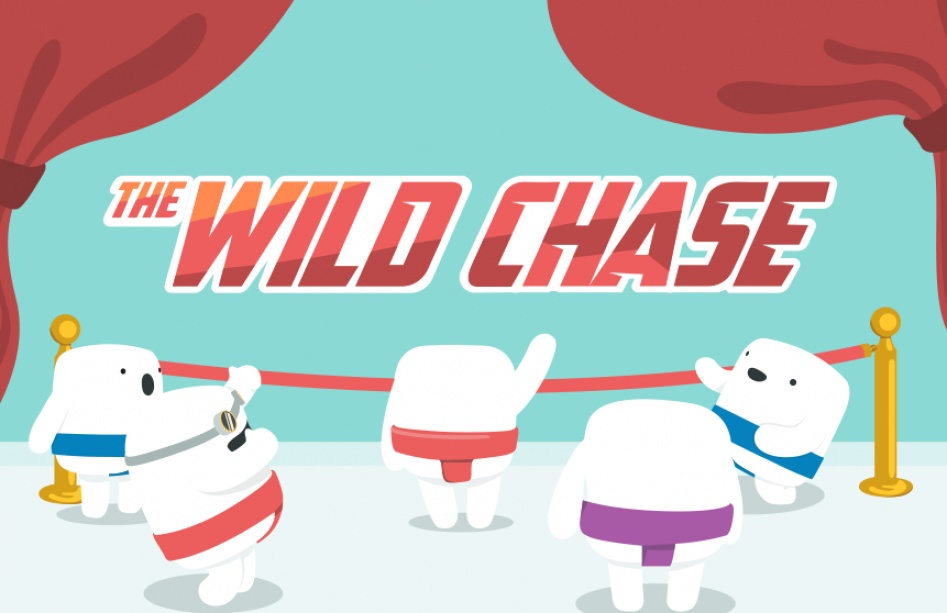 Darmowe spiny na slot the wild chase w casumo casino