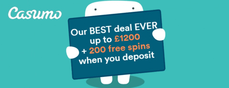 Casumo casino free spiny na twin spin